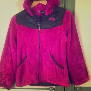 Hot Pink Kids North Face Jacket